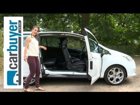 Ford B-MAX MPV 2013 review – CarBuyer