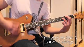 Tennis Shoes - JPNSGRLS Guitar Part