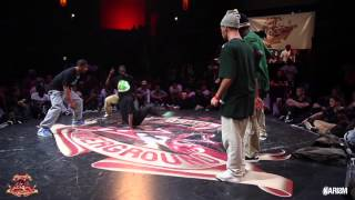 Cercle Underground 6 Hip Hop 1/2 Final Forzesound Vs Germany Team