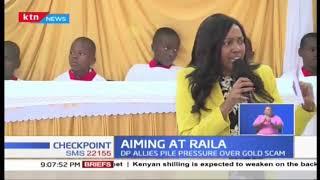 'Tangatanga' leaders put Raila on the spot over the fake gold saga