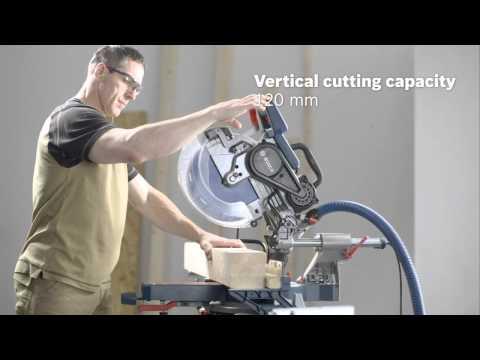 Bosch GCM 12 SDE Professional Sliding Mitre Saw