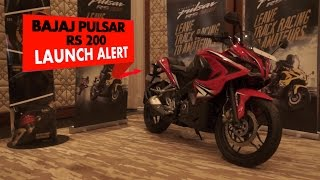 Launch Alert l Bajaj Pulsar RS200 l PowerDrift