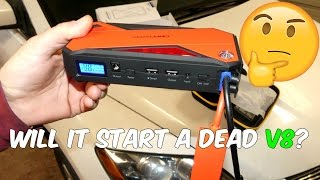 Such a Little Thing, Such a Great POWER | DBPOWER 600A PORTABLE JUMP STARTER