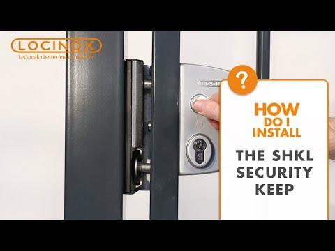 Swing Gate Security Keep