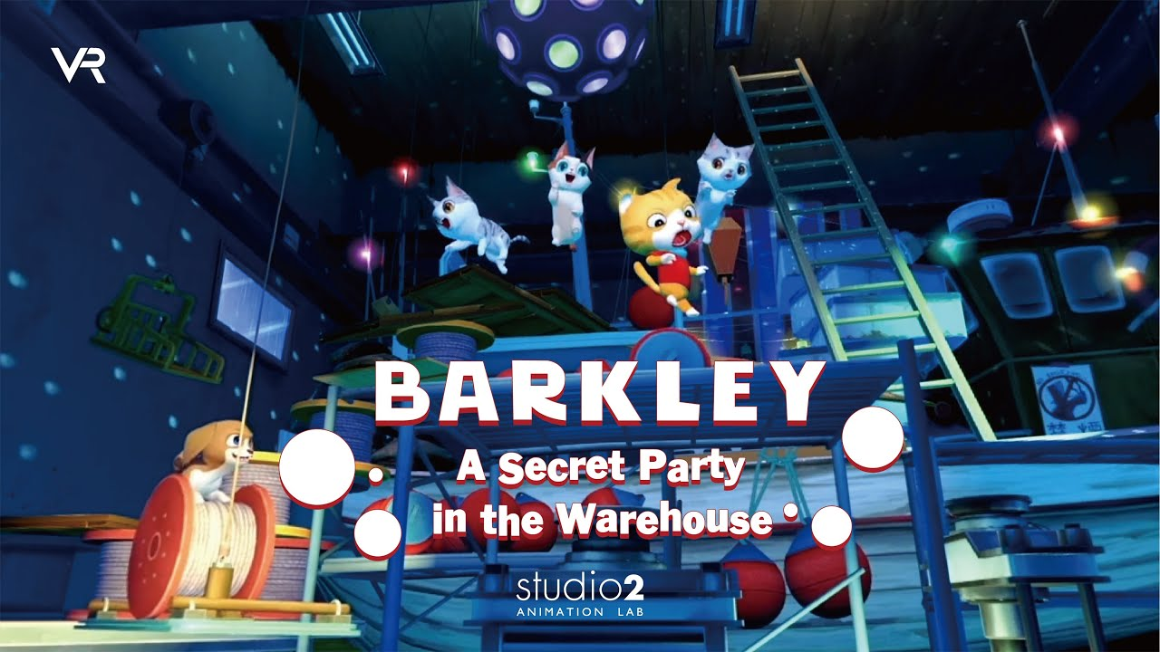 Barkley : A Secret Party in the Warehouse