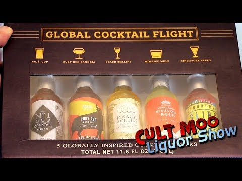 Global Cocktail Flight Gift Box Review