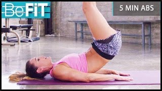 5 Minute Ab Workout: BeFiT Trainer Open House- Tiffany Angulo by BeFiT