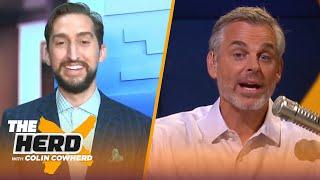 Nick on biggest reasons Clippers lost semis in GM 7 to Denver, pressure broke Kawhi | NBA | THE HERD