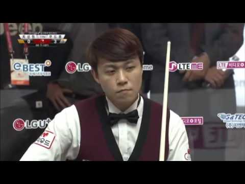 Frederic Caudron vs SungWon Choi 3 Cushion Billiards LG U+ Cup 2015