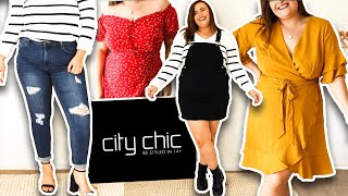 CITY CHIC TRY- ON HAUL AUTUMN 2020 || PLUS SIZE FASHION AUSTRALIA (adgifted)