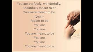 Meant To Be by Steven Curtis Chapman with lyrics