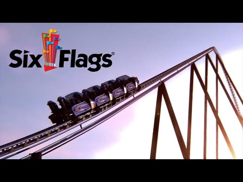 TALLEST, FASTEST, and LONGEST ROLLER COASTER- Falcon's Flight at Six Flags!