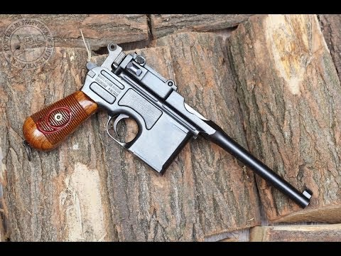 "Shooting The 9 Mm Mauser C96 ""Red 9"" Broomhandle Pistol Mp3"