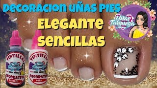 Unas Decoradas Pies Elegantes Video Smotret