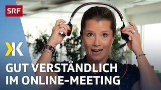 Beste Kopfhörer Homeoffice  - Komfort, Bedienung, Klang, Mikrofon | Test | 2020 | SRF Kassensturz