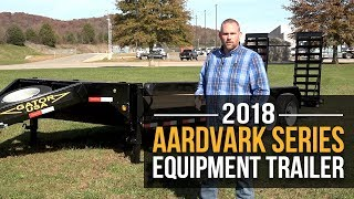 2018 Gatormade Aardvark Equipment 16k Trailer