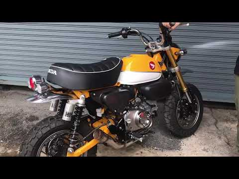 2018 Honda Monkey 125 First Look And Exhaust Sound Smotret Onlajn