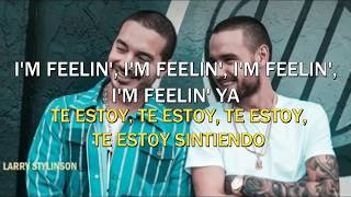 Liam Payne Ft. J Balvin- Familiar [Lyrics/ Sub. Español/ Eng.Sub]