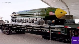 U.S. drops 'mother of all bombs' on Afghanistan