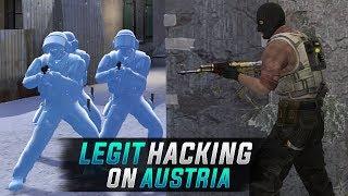 CS:GO   LEGIT HACKING // FIRST TIME PLAYING AUSTRIA... #Austria