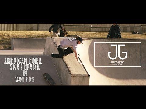 American Fork Skatepark in 240 FPS
