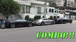 PO – Porsche 991 Turbo S MKII, Panamera Turbo S Exclusive e Lamborghini Gallardo LP560-4