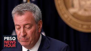 WATCH LIVE: New York City Mayor Bill de Blasio holds news conference