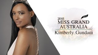 Kimberly Gundani Miss Grand Australia 2018 Introduction Video