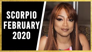 """SCORPIO YOUR PERSON IS A """"MESS!"""" FEBRUARY 2020"""
