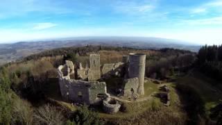 Vidéo : le Château d'Urfé à Champoly comme vous ne l'avez jamais vu (filmé en drône)