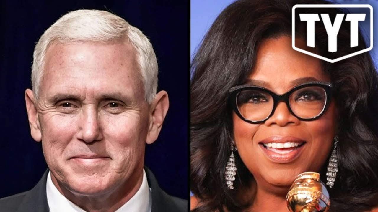 Mike Pence Compares Himself To Oprah thumbnail