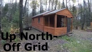 The weekend homestead. My off grid shed to tiny cabin project: Prepping for deer camp