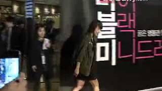 HJW At My Black Mini Dress VIP Screening