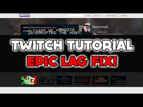 How to watch twitch through VLC, less buffering, less delay