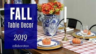 Fall Table Decor 2019