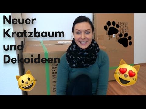 Neuer Kratzbaum, Dekoideen für´s Katzenzimmer Teil1