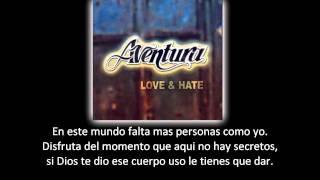 Aventura - Te Invito (lyric - letra)