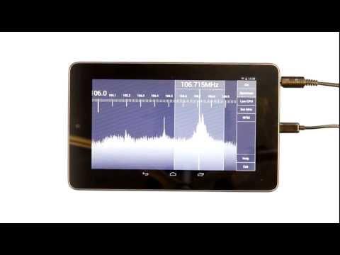 Vídeo do SDR Touch - Live radio via USB