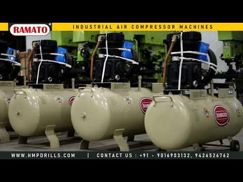 RMT-4 1 HP 1 Cylinder Single Stage Air Compressor