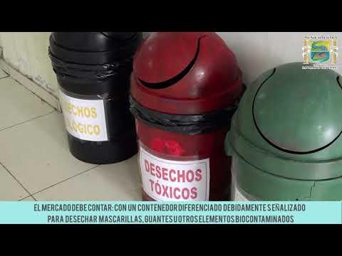 MEDIDAS SANITARIAS DE BIOSEGURIDAD EN LOS MERCADOS DE ABASTOS
