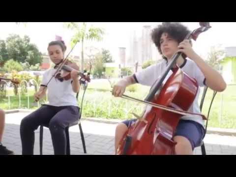 Projeto Música ao Ar Livre da Secretaria de Educação de Barueri.
