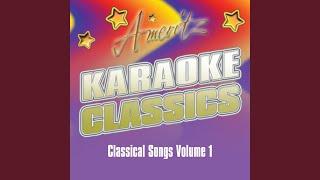 Karaoke - Time To Say Goodbye