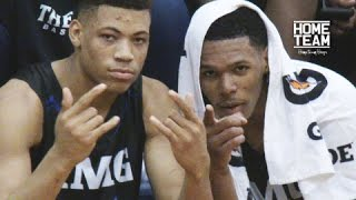Trevon Duval Lights It Up! #1 IMG vs #9 The Rock INTENSE Game - Full Highlights