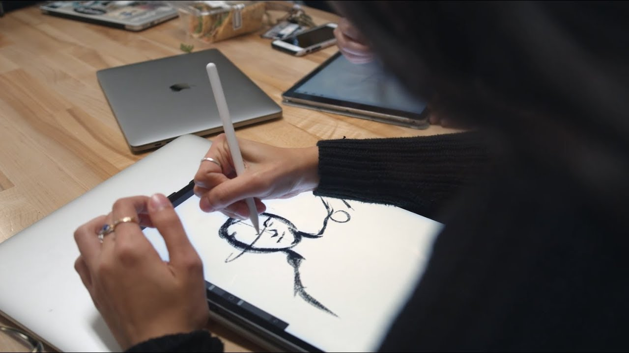 Watch video: Illustration Major Focus: Anya Sirker | George Fox University