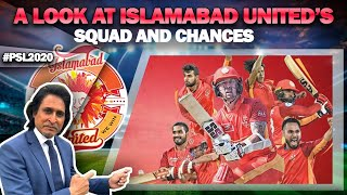 A look at Islamabad United's Squad and chances | PSL 2020