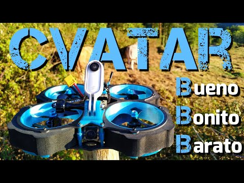 EACHINE CVATAR: CINEWHOOP BUENO, BONITO Y BARATO