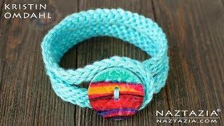 How To Crochet The Grace Bracelet From Kristin Omdahl Handmade Gifts Book