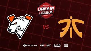 Virtus.pro vs Fnatic, DreamLeague Season 11 Major, bo3, game 2 [4ce & Lex]
