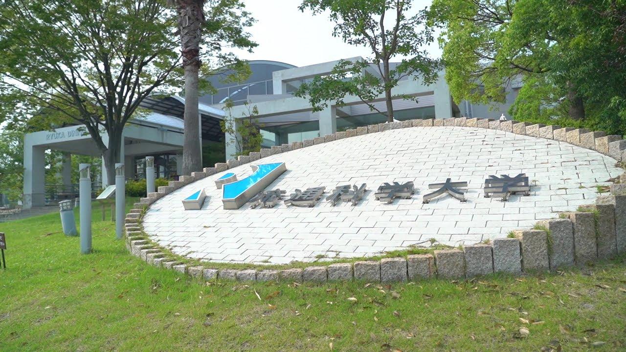 留学生向けに、大学施設を紹介しています。