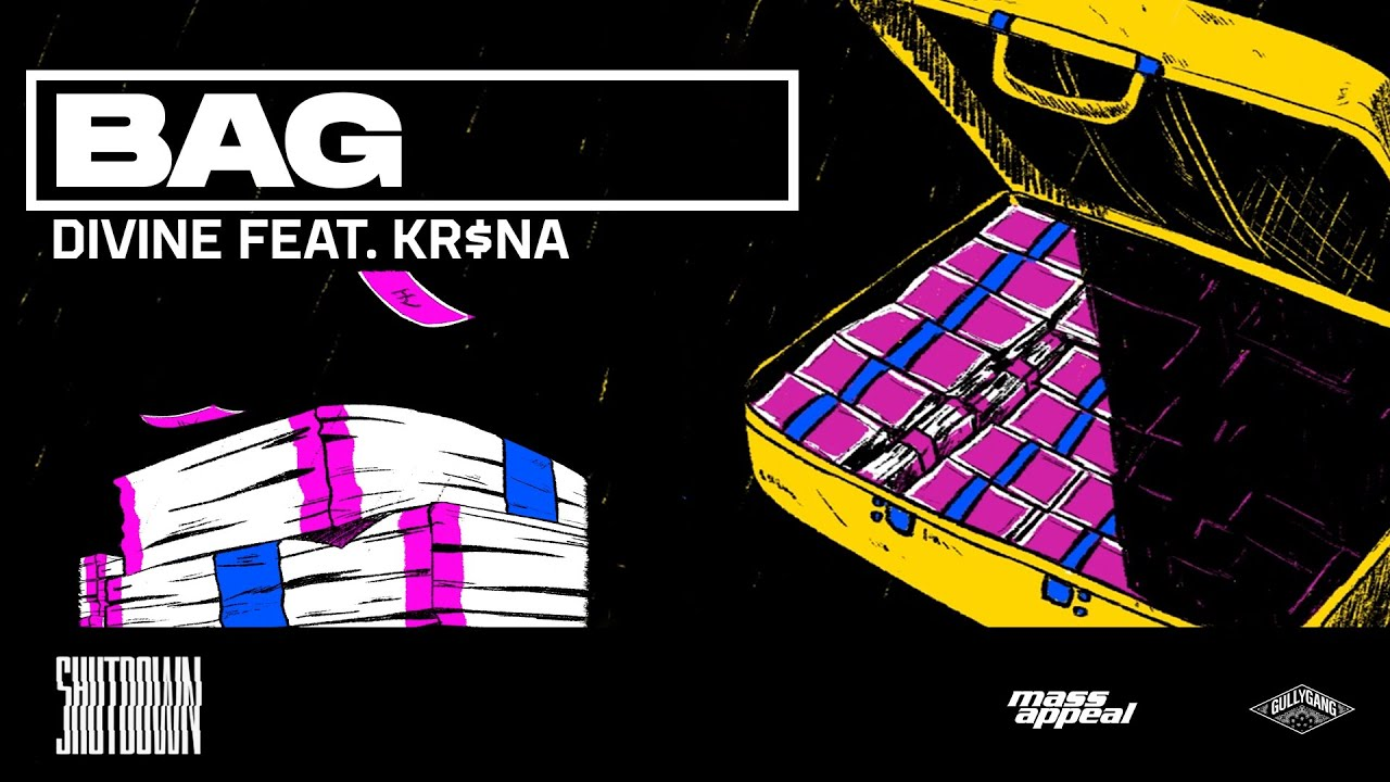 Bag Lyrics in English - DIVINE feat. KR$NA